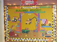 Building Readers -Construction bulletin board