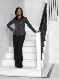 I AM CURRENTLY OBSESSED WITH THE SHOW SCANDAL AND ALONG WITH THAT COMES ALL THE FASHION KERRY WASHINGTON BRINGS TO THE SHOW. I WILL SAY HER ...
