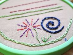 Learn Hand Embroidery with Me: Basic Stitches, Part 1 (for beginners) - YouTube