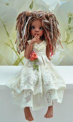 New Talyssa Human in Coffee Tan Skin Tone Kaye Wiggs MSD BJD Doll 1 Day Sale…
