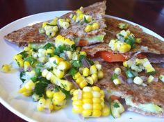 Veggie Quesadillas (Four Meals Blog)