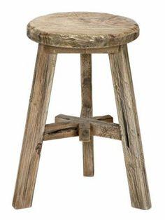 Basic naturel kruk Ole wood teak