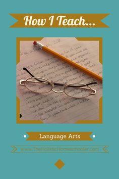 Teaching language arts can be simple using the Charlotte Mason method. See how one mom does it. #homeschool #charlottemason