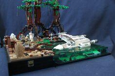 LEGO MOC: Yoda and Luke on Dagobah - LEGO Star Wars - Eurobricks Forums