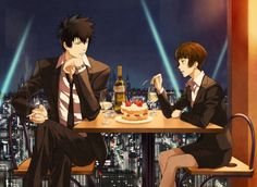 psycho pass fan art | Psycho-Pass Fan Art