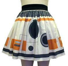 THIS WOULD BE A CUTE PAIR HALLOWEEN COSTUME WITH SOMEONE ELSE WEARING THE R2D2 SKIRT