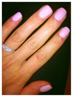 Cake pop shellac manicure! In love!!