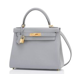 f587e958148591 Hermes Gris Mouette 28cm Kelly Bag Togo Grey Gold Hardware 5 Bag Closet,  Hermes Kelly