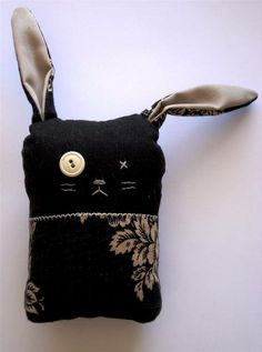 I love this bunny! #kids #softies #bunny #sewing #fabrics #ideas