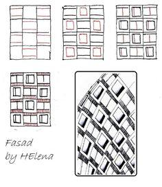 Fasad~Zentangle by HElena