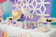 Pastel Geometric 3rd Birthday Party via Kara's Party Ideas   KarasPartyIdeas.com (13)