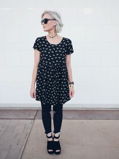 Black outfit for Spring - Whippy Cake