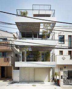 Urban Balcony House Puts Priority on Outdoor Spaces | Designs & Ideas on Dornob