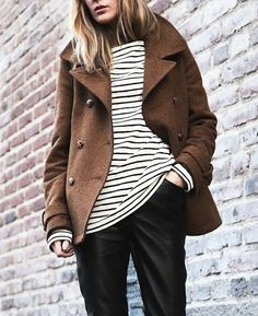 Stripes in winter too..