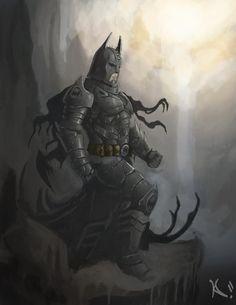 Batman - The Vampire Knight by DiegooCunha on DeviantArt Comic Book Characters, Comic Books Art, Fictional Characters, Book Art, Batman Redesign, Batman Beyond, Batman Universe, Batman The Dark Knight, Vampire Knight