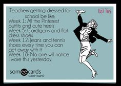cute teacher outfits for back to school, teacher meme, ecard