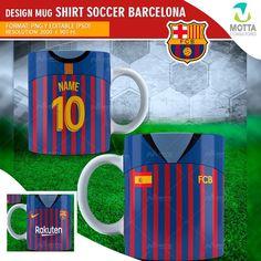 DESIGNS SUBLIMATION FOR MUG SHIRT SOCCER BARCELONA Barcelona, Soccer, Graphic Design, Templates, Mugs, Photography, Shirts, Heat Press, Arts And Crafts