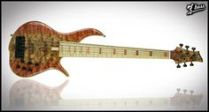 An F Bass BN Fretted 6-String. Quite possibly the most beautiful bass I've ever seen.