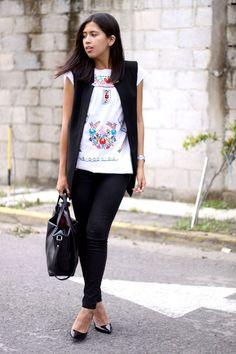 Fashion Bloggers - blusa mexicana