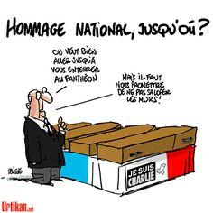 """L'appel d'Aillagon à Hollande pour les morts de """"Charlie Hebdo"""" - Dessin de Deligne #jesuischarlie"""