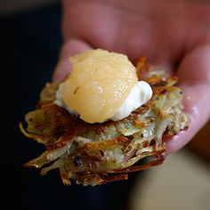 "San Francisco farmer's market CUESA ""World's Best Latkes"" Recipe"