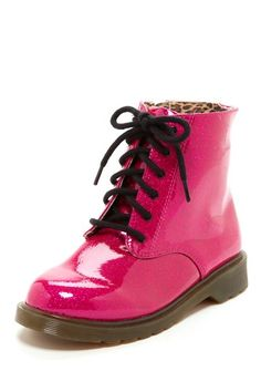 Josmo Patent Combat Boot  (Toddler, Little Kid, & Big Kid) by Josmo on @HauteLook