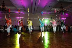 indian wedding reception bhangra performers #indianwedding