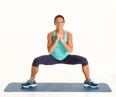 plie squat pulse