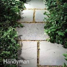 diy gravel and stone paths
