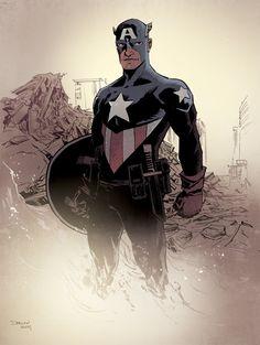 Captain America by Declan Shalvey