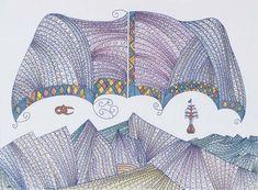 """Te Hono ki Zealandia Nova (Lake Hapua Koari in the Tararua Ranges)"" New Zealand Art, Maori Art, Collaborative Art, Still Life Art, Art Drawings, My Arts, Ford, Quilts, Embroidery"