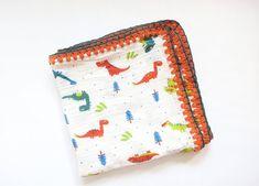 Organic cotton swaddle baby Muslin cotton blanket gift for | Etsy Muslin Swaddle Blanket, Baby Swaddle, Cotton Blankets, Cotton Muslin, Rainbow Decorations, Baby Room Decor, Crochet Fashion, Burp Cloths, Crochet Style