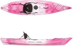 Pink kayak. For when you need a superhero on the river.