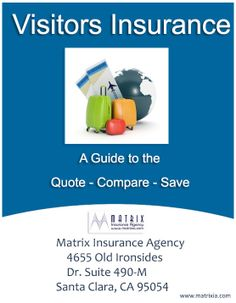 Visitors Insurance California