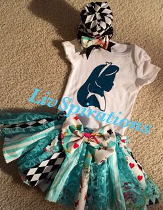 Hey, I found this really awesome Etsy listing at https://www.etsy.com/listing/247768402/alice-in-wonderland-outfit-birthday
