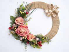 Christmas wreath, Holiday Wreath, Front Door Wreath, Outdoor Wreath, Decor
