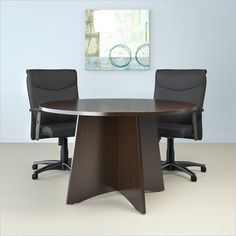 This Stylish Modern Conference Room Is Outfitted With Supra Series - Elliptical conference table