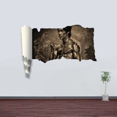 GET $50 NOW | Join RoseGal: Get YOUR $50 NOW!http://www.rosegal.com/wall-decoration/3d-wall-stickers-bruce-lee-style-wall-decals-home-appliances-decor-546363.html?seid=9107790rg546363