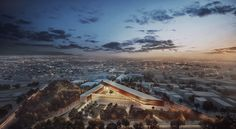 Proposal For A Transparent Museum in Cyprus Rethinks The Urban Square