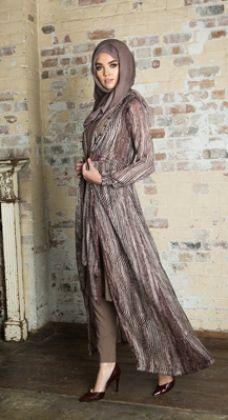 10 stylish chiffon front open abayas (3)