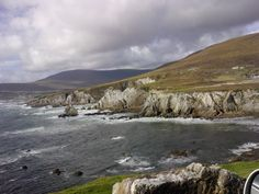 view from Atlantic Drive, Achill Island.