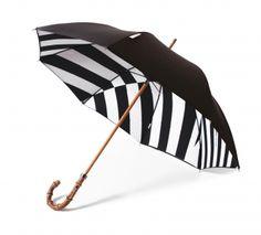 London Undercover x Maharishi DPM - Bamdazzle Black & White Dazzle camouflage umbrella