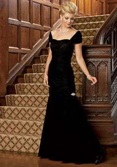 Mother of the bride or groom Dress features draping, rhinestone detail, and matching wrap. Also available in petite sizes 0 to Love this! Mother Of Groom Dresses, Bride Groom Dress, Mothers Dresses, Mother Of The Bride Gowns, Mother Bride, Mob Dresses, Dressy Dresses, Bridesmaid Dresses, Bride Dresses