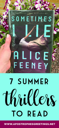 7 Summer Thrillers to Read — Apostrophe S Greetings Best Books To Read, I Love Books, My Books, Reading Books, Reading Lists, Book Nerd, Book Club Books, Book Lists, Book Clubs