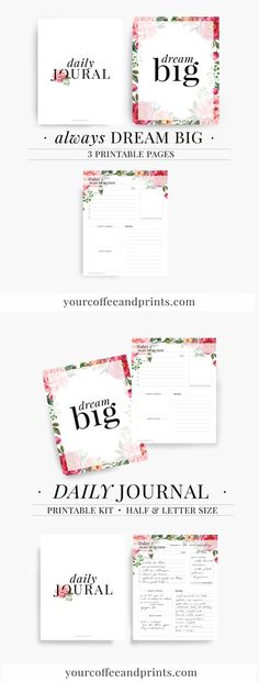 Free Printable Motivational Quotes Planner Template  Binders