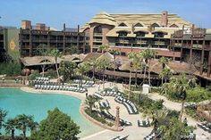 Disney World/Animal Kingdom Lodge/Orlando, Florida