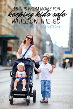 15 Tips to Keep Children Safe While On The Go [From The Mouths of Moms] Do you worry about keeping your children safe while on-the-go and in busy places? Here's some great tips from moms who've been there! Kids And Parenting, Parenting Hacks, Parenting Plan, Parenting Classes, Parenting Websites, Parenting Articles, Parenting Styles, Foster Parenting, Parenting Quotes