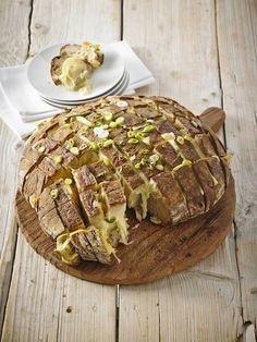 Käse-Zupfbrot Mehr