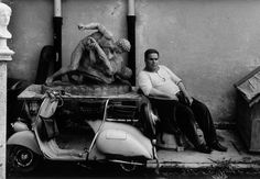 William Klein, Cinecittà, Rome, 1956