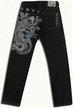 Seluar Jeans Sugoi Ikan Sulam Material jeans kepala kain Harga Runtuh Rm40  sehelai ja Size dari 28 sampai 38 Asian size Straight Cut Whatsapp  +60134269210 ... 02842b538ad